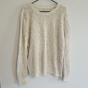 Lucky Brand XL Cream Sweater